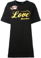 Love Moschino logo T-shirt dress