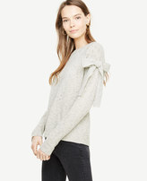 Ann Taylor Shoulder Tie Sweater