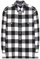 Ralph Lauren Buffalo check wool-blend shirt