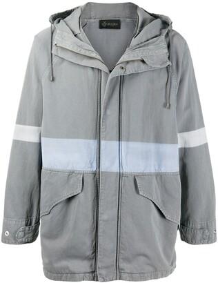 Mr & Mrs Italy Hooded Cotton/Linen Blend Jacket