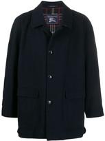 1990s Cutaway Collar Coat