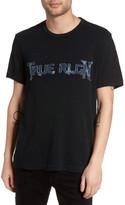 True Religion Denim Appliqué Logo T-Shirt