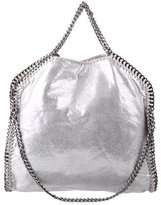 Stella McCartney Shaggy Deer Falabella Fold-Over Bag