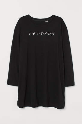 H&M H&M+ Printed Nightgown