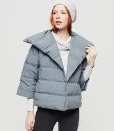 Lou & Grey Heathered Puffer Jacket
