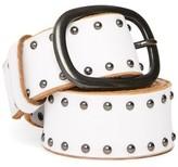 Topshop Leather Studded Belt