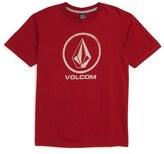 Volcom 'Fade Stone' Graphic Cotton T-Shirt (Toddler Boys, Little Boys & Big Boys)