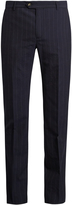 ÉDITIONS M.R Pinstripe wool slim-fit trousers