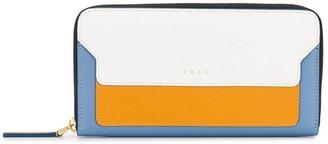 Marni Rectangular Zip-Around Wallet