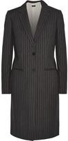 Joseph Striped Cotton-Twill Coat