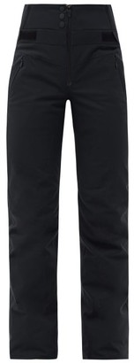 Bogner Fire & Ice Borja High-rise Soft-shell Ski Trousers - Black