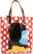 Marni Print by Ekta PVC shopper bag