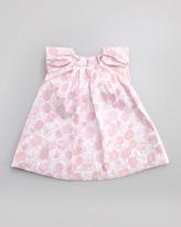 Christian Dior Floral-Print Dress, Sizes 1 -12 Months