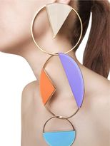 Collezione Three (3) Big Circle Earrings