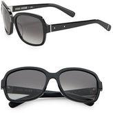 Bobbi Brown The Evelyns 56mm Square Sunglasses