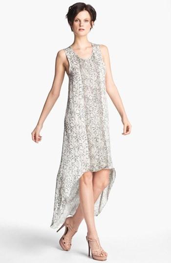 Haute Hippie Women's Embellished High/low Tank Dress