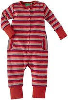 Little Green Radicals Multistripe Playsuit (Baby) - Red-6-9 Months