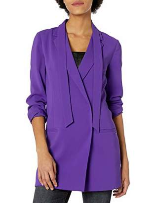 Armani Exchange A|X Women's Long Elegant Blazer with Pockets