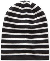 G Star Men's Effo Long Stripe Double-Layer Rib-Knit Beanie