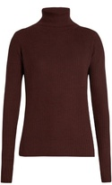 Raey Roll-neck ribbed fine-knit cashmere sweater