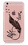Urberry Iphone 6s Case, Slim Clear Case Cover for 4.7 inch Iphone 6/6s with a Screen Protector