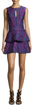 BCBGMAXAZRIA Joylynn Fit-and-Flare Dress, Multi Colors