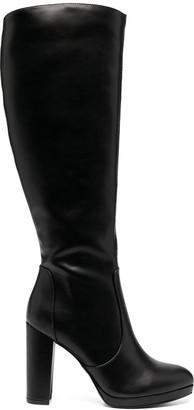 Buffalo David Bitton Marie block heel knee boots