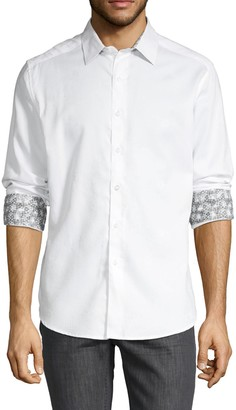 Robert Graham Floral-Print Shirt