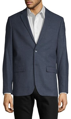 Ben Sherman Slim Fit Neat Textured Sport Coat
