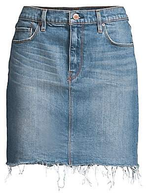 Hudson Jeans Women's Lulu Denim Pencil Skirt