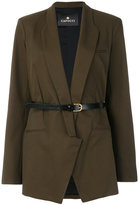Capucci belted fitted blazer