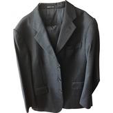 Saint Laurent Grey Wool Suit