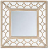 Jla Home Madison Park Avalon Scallop Wood Frame Mirror