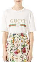 Gucci Print Cotton Tee