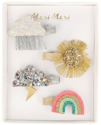 Meri Meri Weather Hair Slides (Set of 4)