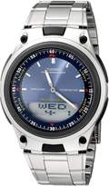 Casio Men's Sports Chronograph Alarm 10-Year Battery Databank Watch AW80D-2AV