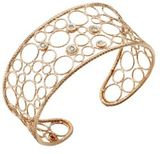 Roberto Coin Bollicine Diamond & 18K Rose Gold Medium Cuff Bracelet