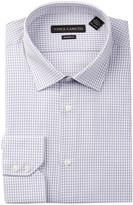 Vince Camuto Modern Fit Check Print Dress Shirt