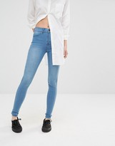 Dr. Denim Plenty High Waist Skinny Jeans
