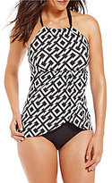 Alex Marie Geo Hi-Neck One Piece