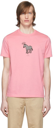 Paul Smith Pink Zebra T-Shirt
