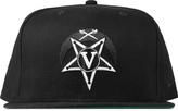 Black Scale Black V Star Crescent New Era Cap