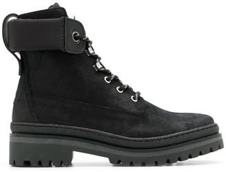 Tommy Hilfiger colour block boots
