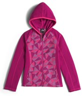 The North Face Girl's 'Glacier' Full Zip Hoodie