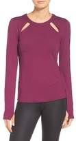 Alo Women's Mantra Keyhole Top
