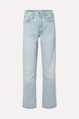 RE/DONE Low Slung Mid-rise Boyfriend Jeans - Light denim