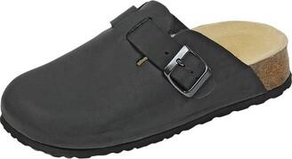 Weeger Unisex Adult with Wedge Sole Clogs - Black (Black) 38 EU