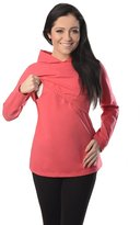 Purpless Maternity Discreet Soft Nursing And Breastfeeding Hoodie 9051