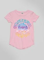Junk Food Clothing Toddler Girls Grateful Dead Rose Tee-patti-4t