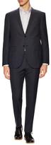 Corneliani Extrafine Virgin Wool Checkered Suit